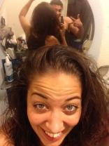 après 2 semaines sans shampoing en mode NOPOO, ça donne ça !